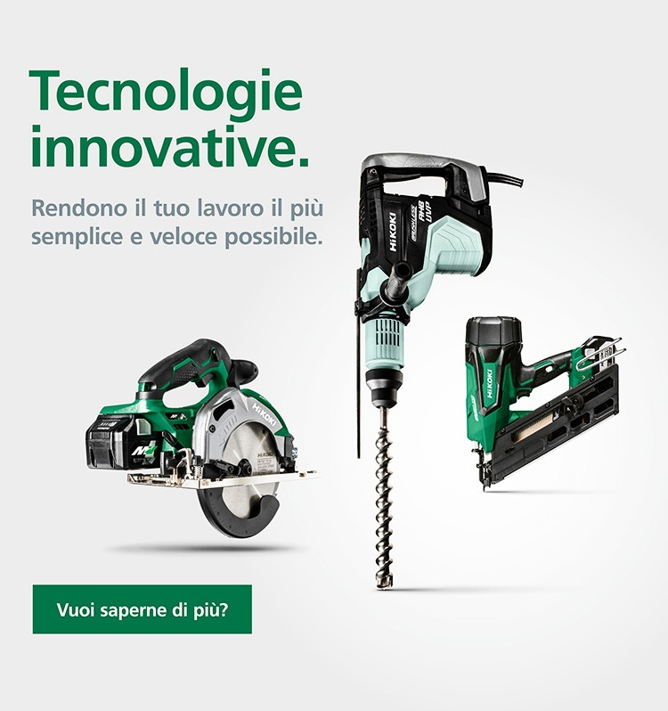 Le nostre innovative tecnologie