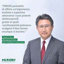 HiKOKI Press Conference